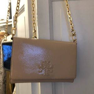 Tory Burch nude shoulder bag